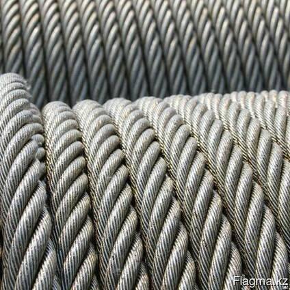 Канаты одинарной свивки спиральные 5x1.1x1 мм ТК ГОСТ 3063-8