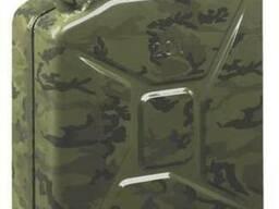 Канистра 20 литров металлическая - камуфляжная - в Алматы