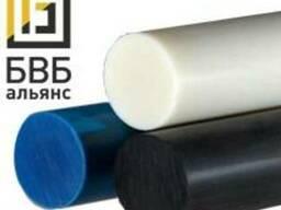 Капролон стержень 50-200 мм графит.