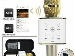 Караоке-микрофон беспроводной Tuxun Q7 со встроенной. ..