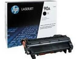 Картридж лазерный HP CE390A, оригинал, Black