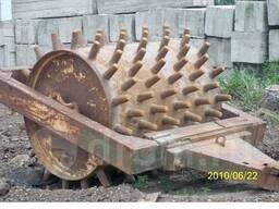 Каток прицепной дорожный кулачковый вес 8 тонн