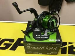 Катушка для спиннинга W. P. E. GreenLight GL-4000