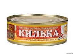 Килька балтийская в томатном соусе Б. №5 (1/240г) 1/48