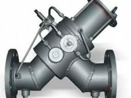 Клапан осесимметричный