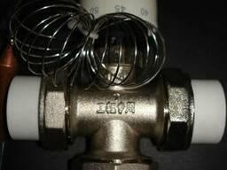 Клапан смесительный с термоголовкой