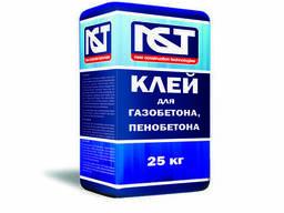 Клей для газобетона, пенобетона NCT, М-50 (25 кг. )