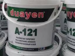 Клей полиуретановый для резиновой плитки и покрытий 23 кг
