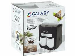 Кофеварка Galaxy GL 0708 (черная)