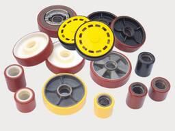 Колеса и ремкомплекты для гидравлических тележек (рохли)