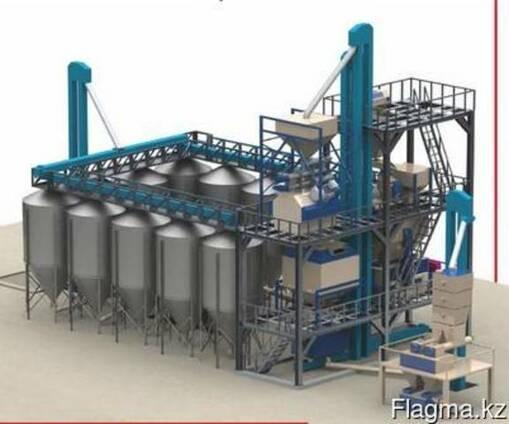 Комбикормовый завод под ключ в Казахстане