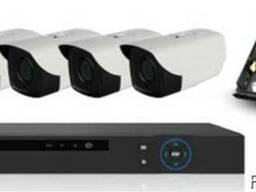 Комплект HD-IP камер - 1. 0 mpx нового поколения