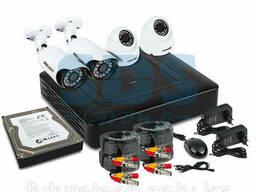 Комплект видеонаблюдения PROconnect, 2 внутренние, 2. ..