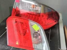 Комплект задних фонарей хрусталь BMW E46