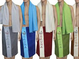 Комплекты для сауны (килты, полотенца) Турция