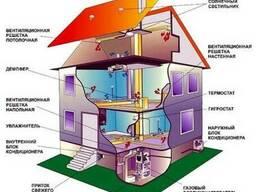 Кондиционирование, вентиляция и отопление