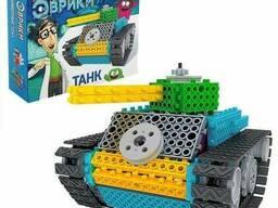 Конструктор электронный «Танк» из 145 деталей от Эврики