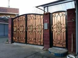 Кованые ворота любого дизайна