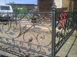 Кованые ритуальные ограды - фото 1