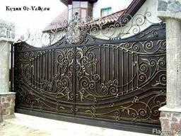 Кованые ворота, решетки перила. Алматы