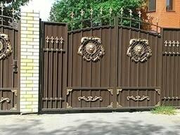 """Кованые ворота и калитка """" Аристо """"- 210. 000"""