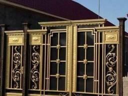 """Кованые ворота и калитка """" Цезарь""""- 300.000."""