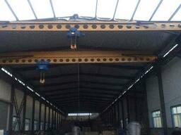 Краны мостовые опорные, подвесные(кран-балки)концевые балки