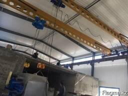 Кран-балка подвесная, опорная грузоподъемностью 5,0тн
