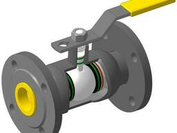 Кран шаровый DN15 PN40 МПА фланцевый стальной