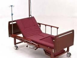Кровать кресло для лежачих больных с туалетом и винтовым при