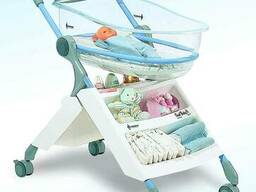 Кроватка для новорожденных Panda Oval Baby