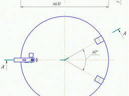 Крышка чугунная телефонного люка тип «Л» ГОСТ 8591-76