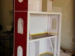 Кукольный домик для маленьких принцесс!!!