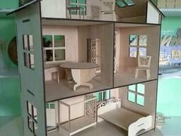 Кукольный домик резная мебель