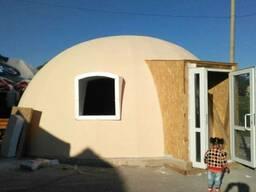 Купольный, сфера дом
