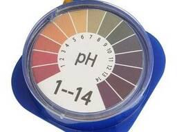 Лакмусовая бумага, индикаторные полоски для определения pH