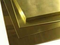 Латунный лист, плита ЛС59-1 - ЛС59-1 50х600х1500