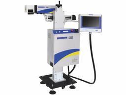 Лазерный промышленный принтер для производства. Маркировка н
