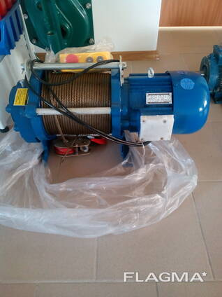 Лебедка электрическая KCD - 1000 kg