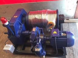 Лебедка электрическая маневровая ЛМ-10 с комплекте с тросом
