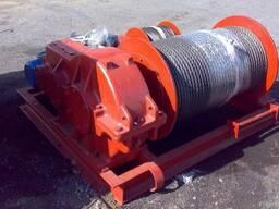 Электрическая маневровая лебедка ТЛ-8Б тяговое усилие 5, 0тн