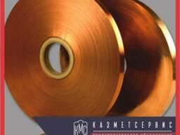Лента медная М3 0. 8 мм