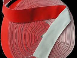 Лента вибрационная красная для разгрузки цемента