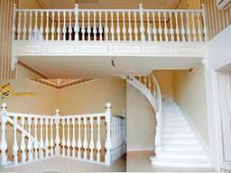 Лестница деревянная - фото 4