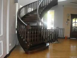 Лестница деревянная - фото 5