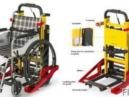 Лестничный подъемник гусеничный для инвалидов