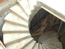 Лестницы из монолитного железобетона - фото 2