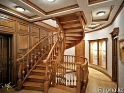 Лестницы из сосны и ореха