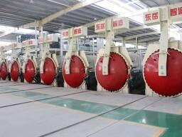 Линии по производству газобетонных блоков(плит) и кирпича.
