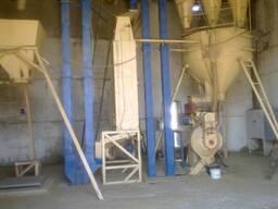 Линия по гранулированию соломы и сена на базе пресса ОГМ-1, 5